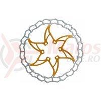 Disc frana Ashima ARO-09 160mm Super Light auriu