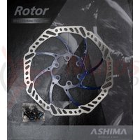 Disc frana Ashima ARO-15 160mm albastru