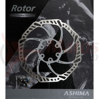 Disc frana Ashima ARO-15 180mm alb