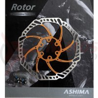Disc frana Ashima ARO-15 180mm auriu