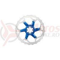 Disc frana Reverse Discrotor 203mm aluminiu/otel albastru inchis C