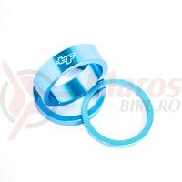 Distantier BikeForce 3/5/10mm albastru