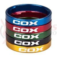 Distantier Cox Light negru 10 mm