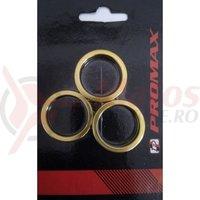 Distantiere cuveti-furca Promax AW-8 2x3mm, 2x5mm, 1x10 mm aurii
