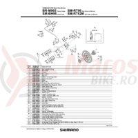 Distantiere Shimano BR-M965