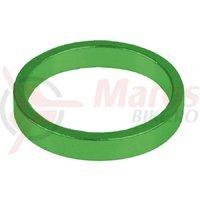Distantieri aluminiu 1.1/8 5mmx6buc M-Wave verde anodizat