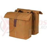 Geanta portbagaj Basil City camel brown, 30x18x49cm