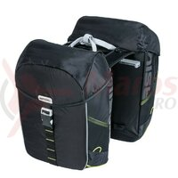 Geanta Basil Mik Miles black lime,waterproof, 37L
