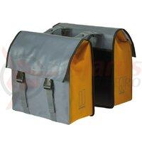 Geanta portbagaj Basil Urban Load DB waterproof grey/gold 48-53 liters