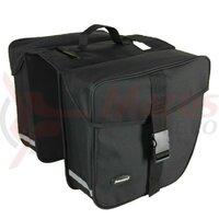 double bag Haberland eBike M black, 31x30x16cm, 31l