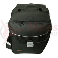 double bag Haberland Touring 6000 black, 32 x 31 x 16cm, 33 ltr