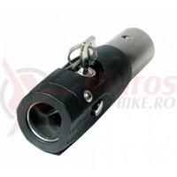 DrawbarPlug Weber with Lock for Alu-Drawbar Monz 28,6 mm Outside?