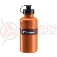 Bidon Elite Eroica Vintage 500ml, rust brown