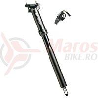 Tija sa DT Swiss D232 aluminium, black, 30.9mm, 400mm