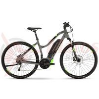 E-Bike Haibike Sduro Cross 4.0 Women 500Wh YCM grey/grey/green 2019