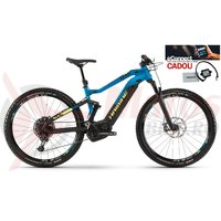 E-Bike Haibike Sduro Fullnine 9.0 500Wh YCS black/blue/yellow matt 2019 eConnect CADOU