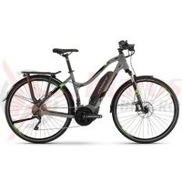 E-Bike Haibike Sduro Trekking 4.0 women 500Wh YCM grey/black/green 2019