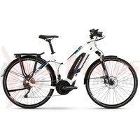 E-Bike Haibike Sduro Trekking 4.0 women 500Wh YCM white/blue/black 2019