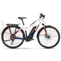 E-Bike Haibike Sduro Trekking 5.0 women 500Wh BCXI blue/white/orange 2019