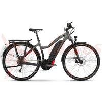 E-Bike Haibike Sduro Trekking S 8.0 women 500Wh YWC black/titan/red mat 2020