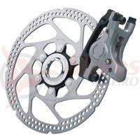 Etrier frana disc Shimano Deore LX BR-M585 Fata Hidraulica + Rotor SM-RT62