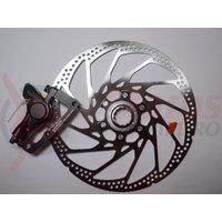 Etrier frana pe disc + Rotor Shimano Hone BR-M601 Fata