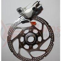 Etrier frana pe disc Shimano Deore LX BR-M585 Fata Hidraulica + rotor SM-RT62