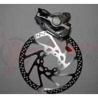 Etrier frana pe disc Shimano Deore LX BR-M585 Spate Hidraulica + rotor SM-RT75S