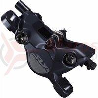 Etrier frana pe disc Shimano SLX BR-M7100 hidraulic fata sau spate fara adaptor placute metal j04c cu aripioare de racire