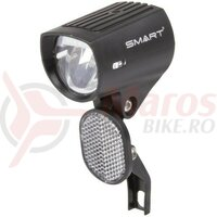 Far bici. Smart pentru E-bike, 1led, 30 Lux, DC 6-48V, cu intrerupator, reflectorizant si suport