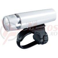 Far cu baterii Cateye HL-EL010 uno opticube alb