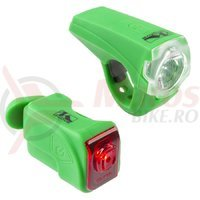 Far si stop verde USB/25 Lux M-Wave