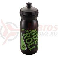 Flacon BIKEFUN 600 ml negru/verde