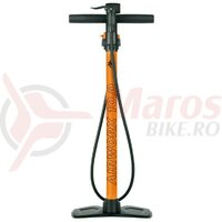 Pompa podea SKS Air Worx 10.0 multivalve, orange  DV/SV/PV