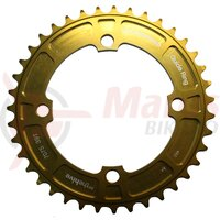 Foaie angrenaj E-THIRTEEN Chainring Guidering 38T (4mm) Delta Gold Anodised