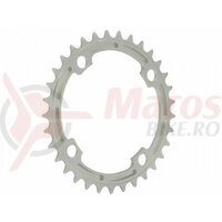Foaie angrenaj  E-THIRTEEN Chainring GUIDERING 38T (4mm)  Silver Bullet Anodised
