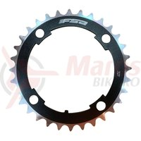 Foaie angrenaj FSA MTB DH PRO negru 104x32T (3mm) WB055