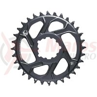 Foaie Angrenaj Sram X-SYNC 2 Direct Mount 3mm Offset Boost - 30T, Gri