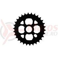 Foaie pedalier BMX 30T, negru
