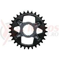 Foaie Shimano 30T black, pentru FCM7100 1x12v