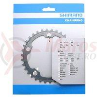 Foaie Shimano 34T FC-5650 argintie