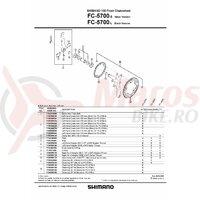 Foaie Shimano FC-5700L 52T-B neagra