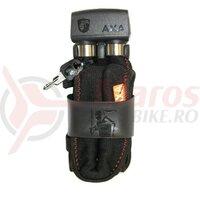 Lacat pliabil Axa 800 100cm, thickness 8mm black