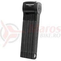 Lacat antifurt pliabil Trelock Trigo cu suport FS 380/85, black, ZF234 X-Move