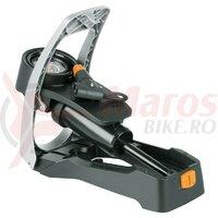Pompa de picior SKS Airstep black, w. press.gauge DV/PV/SV 7bar/102psi