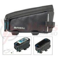 Borseta cadru Basil Sport design graphite, water-repellent, 1 L