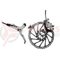 Frana Disc Hidraulica Avid Elixir 5 Spate Dreapta, L1450, disc IS6 G3-160, alba