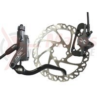 Frana hidraulica disc fata Hayes Stroker Trail 180mm IS gri