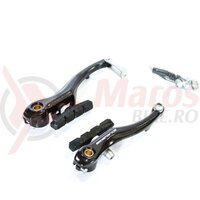 Frana V-brake universal 110 mm negru