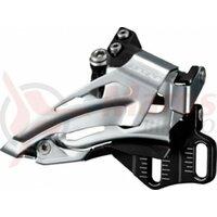 Schimbator fata Shimano Deore Top Swing FD-M618E6X, Down Pull, 66-69° BLK.E-Type